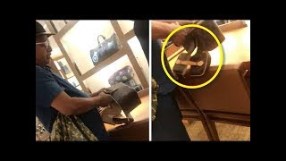 Angry Man Cuts Louis Vuitton Bag Open After Store Staff Judged Him Based on His Clothes