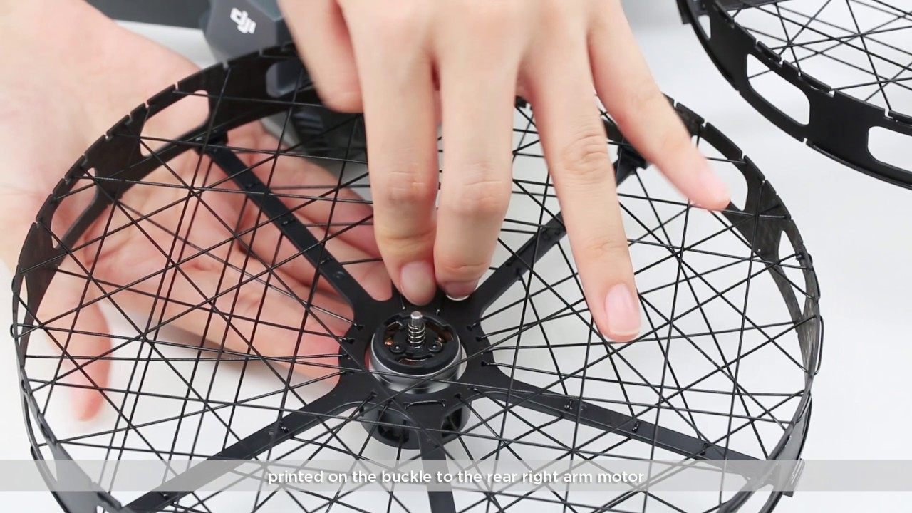 8065a8b54ff How to Mount DJI Mavic Pro Propeller Cages - YouTube