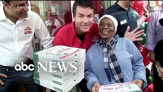 Face of popular pizza company steps down as board chairman