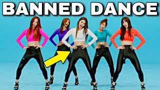 Baixar KPOP BΛNNED DANCE: Before VS After