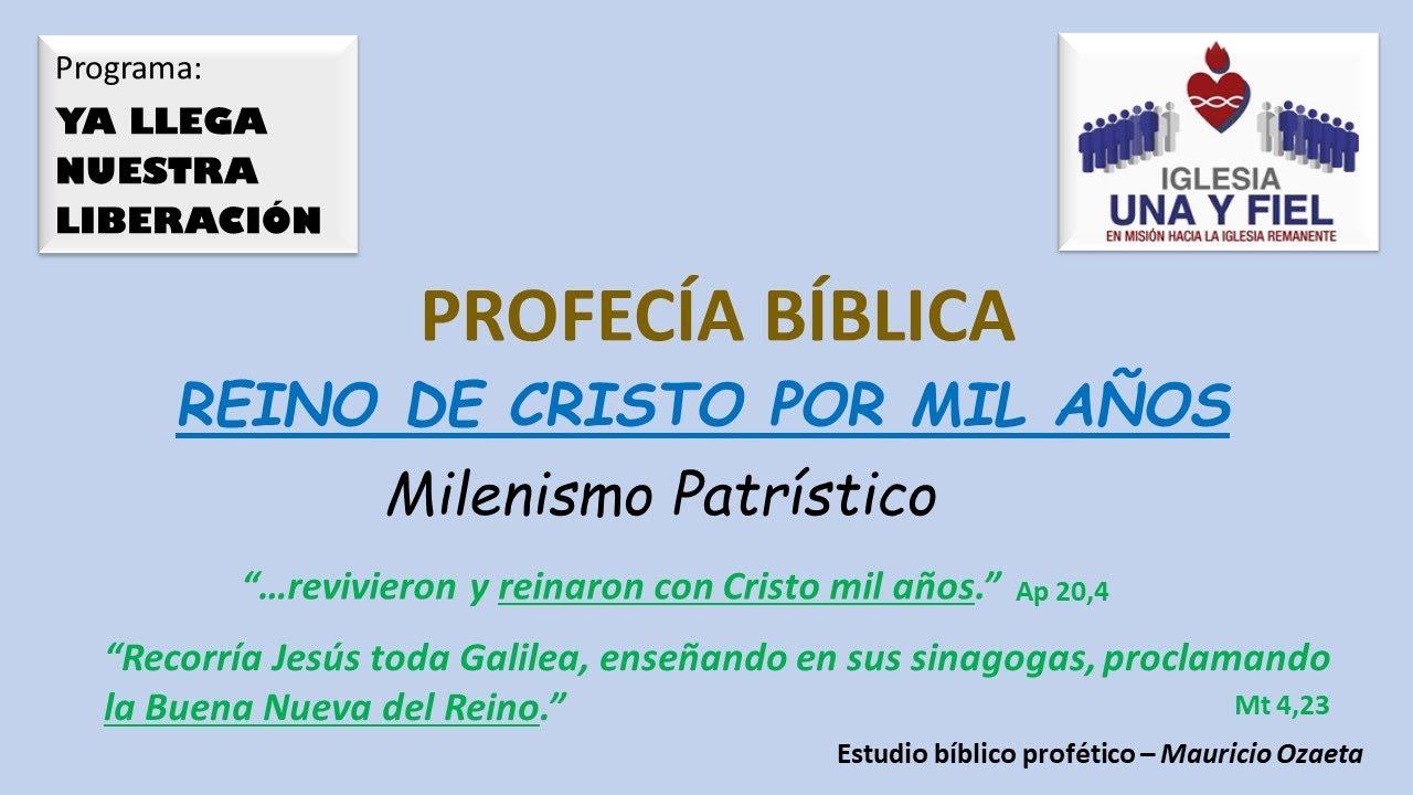 Ya llega nuestra liberación - EL REINO DE CRISTO EN LA TIERRA (AMPLIADO)