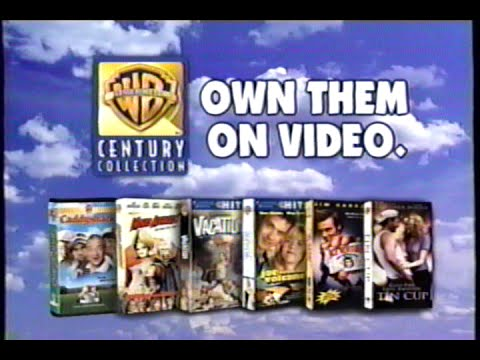 Warner home video century collection 1999 promo 4 vhs for Housse zip collection captur