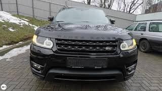 Review Land Rover Range Rover Sport 2014.  Обзор Рэндж Ровер Спорт.