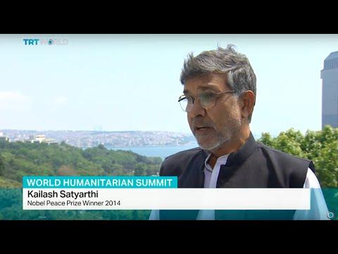 Interview with Nobel Peace Prize Winner Kailash Satyarthi on World Humanitarian Summit