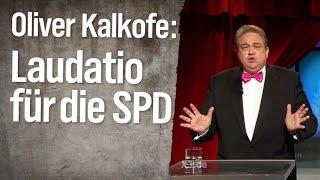 Oliver Kalkofes Laudatio für die SPD