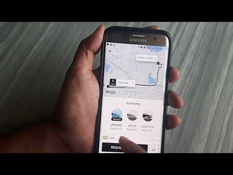 how to book uber cab