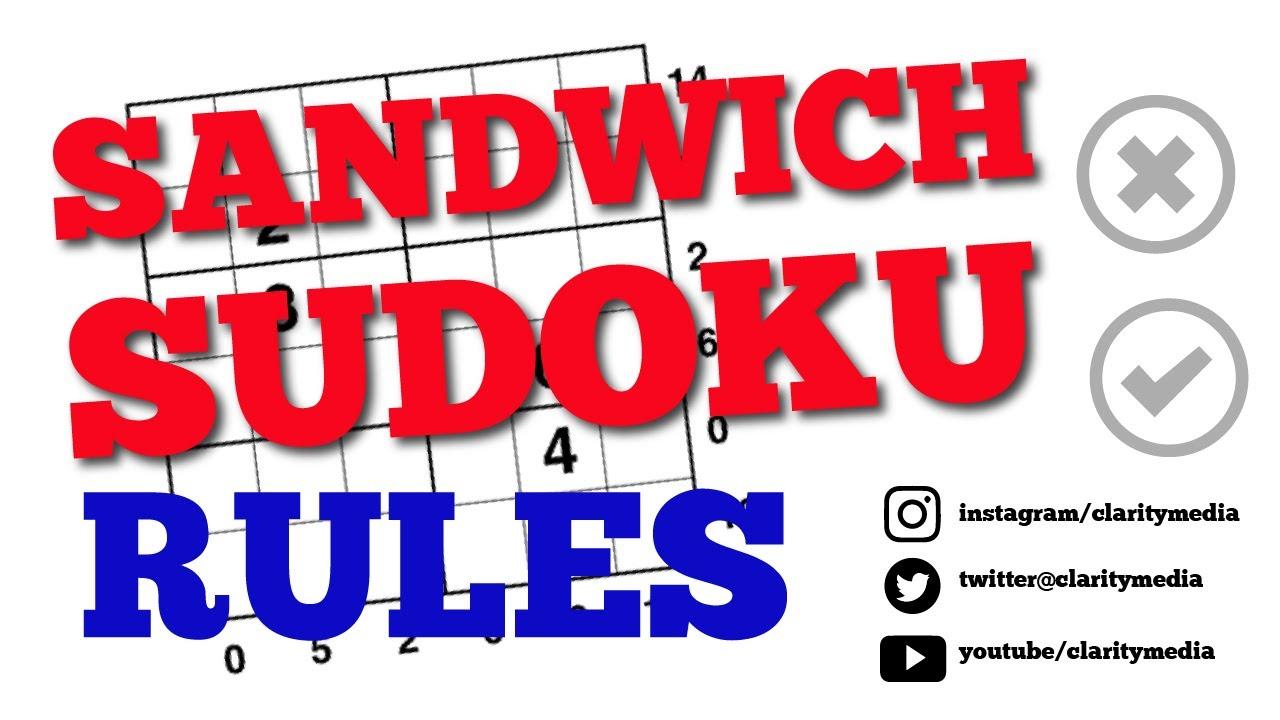 Sandwich Sudoku Puzzles