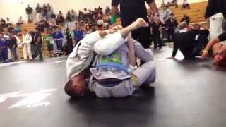 Charlie Bo inverted triangle/kimura finish