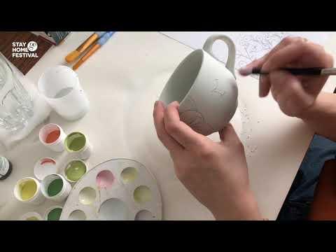 STAY HOME FESTIVAL: Illustration Class с Borislava Made it