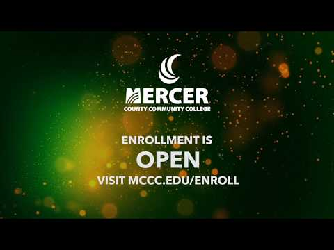 Enroll Today at Mercer County Community College