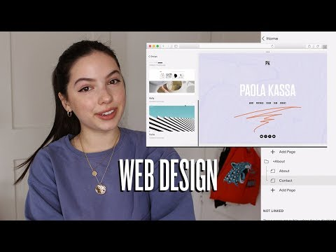Web Design: How I Made My Online Portfolio!