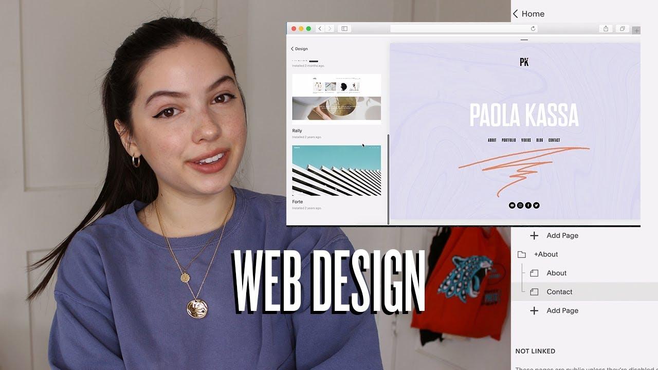 Web Design: How I Made My Online Portfolio!
