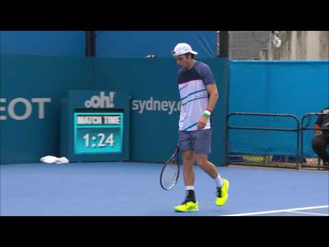 Lorenzi v Mayer Match Highlights (R1) | Apia International Sydney 2017