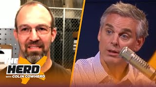 MJ's pizza delivery man discusses the infamous delivery before GM 6 of the '97 NBA Finals | THE HERD