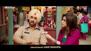 Trailer BEWARE Dialogue Promo Arjun Patiala Diljit Kriti Varun