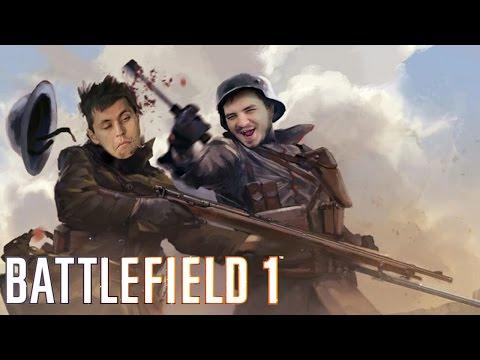 Мэддисон играет в мультиплеер Battlefield 1