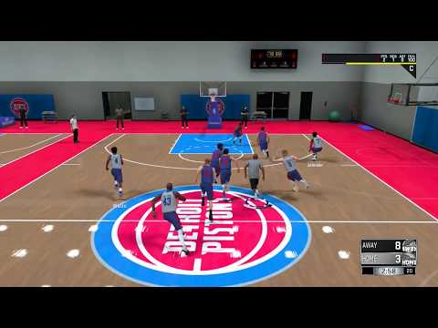 NBA 2K18 My Career Prelude Detroit Pistons Tryouts PS4 Gameplay