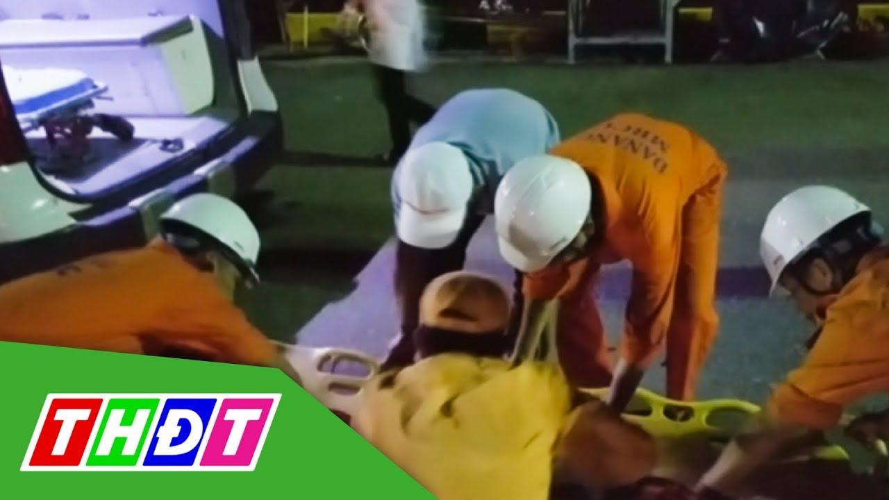 Cấp cứu ngư dân bị đau ruột thừa trên vùng biển Hoàng Sa | THDT