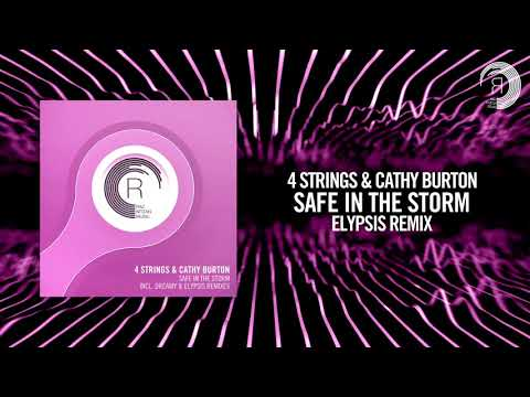 Клип 4 Strings - Safe In The Storm (Elypsis Extended Mix)