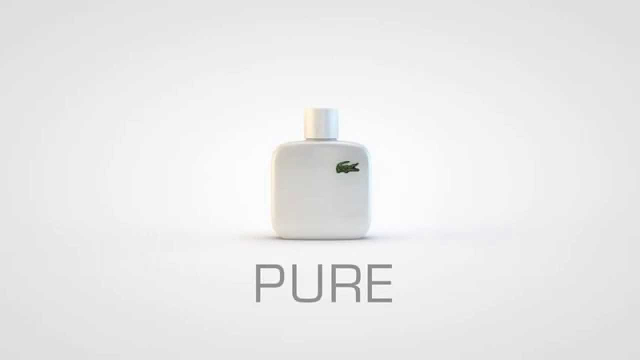 3180de8bc5379 Lacoste Eau De L 12 12 Blanc Men EDT 100ml For Men - YouTube