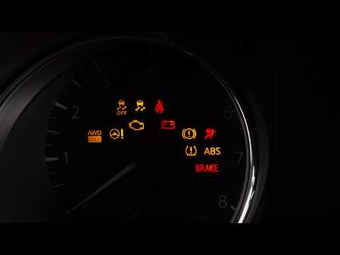 2019 Nissan Rogue - Warning and Indicator Lights