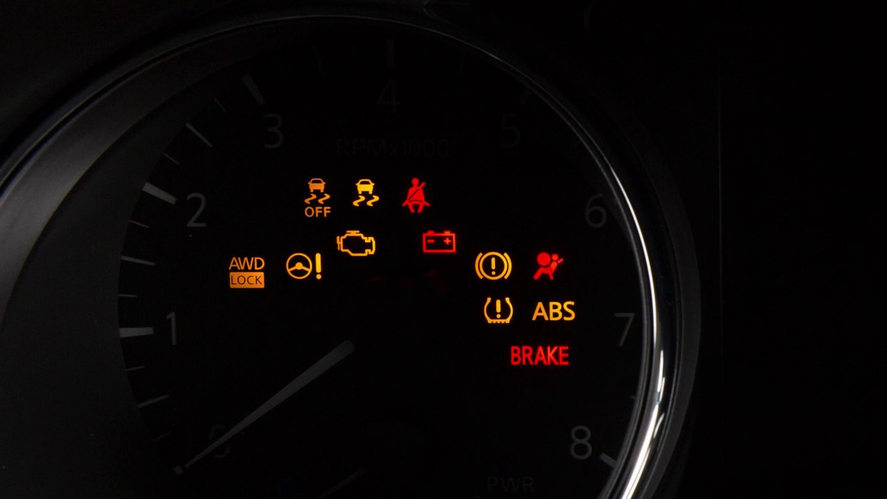 2019 Nissan Rogue Warning And Indicator Lights Youtube