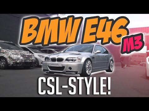 JP Performance - BMW E46 M3 | Jetzt gibt's was auf die Lippe! | CSL-Style