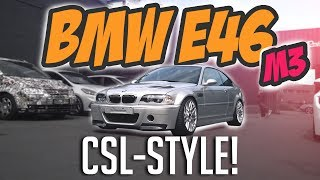 JP Performance - BMW E46 M3 | install of the new carbon-parts!