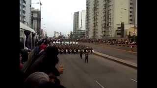LA BANDA DEL EJERCITO PERUANO  2014