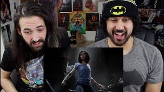 ALITA: BATTLE ANGEL | Official TRAILER REACTION & REVIEW!!!