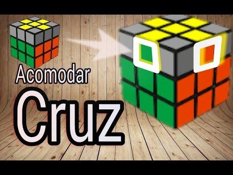 Como Acomodar La Cruz De La última Capa Del Cubo 3x3x3 Youtube