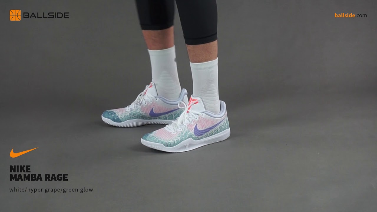 Fraude Ese Misión  Nike Mamba Rage on feet - YouTube