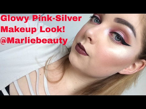 Glowy Pink-Silver Makeup Turorial | MarlieBeauty   #Fixitall