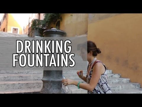 A Guide to drinking Fountains in Rome (Nasoni) with Walks of Italy