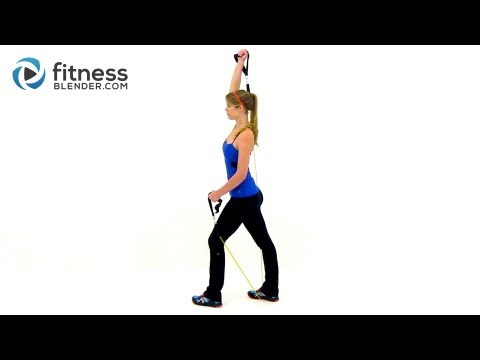 Sexy Arms Workout - At Home Resistance Band Workout for the