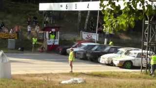 Folkrace Håga Pokalen 2014 A-Final Juniorer
