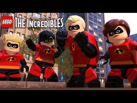 LEGO THE INCREDIBLES 1 All Cutscenes (Game Movie) 1080p 60FPS thumbnail