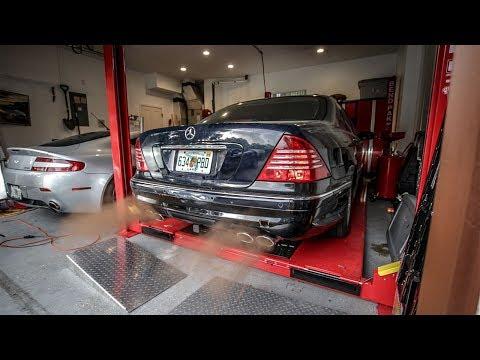 I Installed A Junkyard AMG Exhaust! - Project Mercedes-Benz S-Class Pt 14