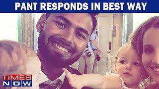 Rishabh Pant Responds To Tim Paine S Babysitting Sledging Comment