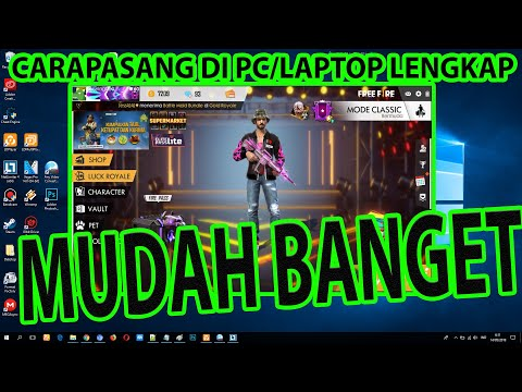 CARA DOWNLOAD FREE FIRE DI PC LAPTOP TANPA BLUESTACK DAN NOX