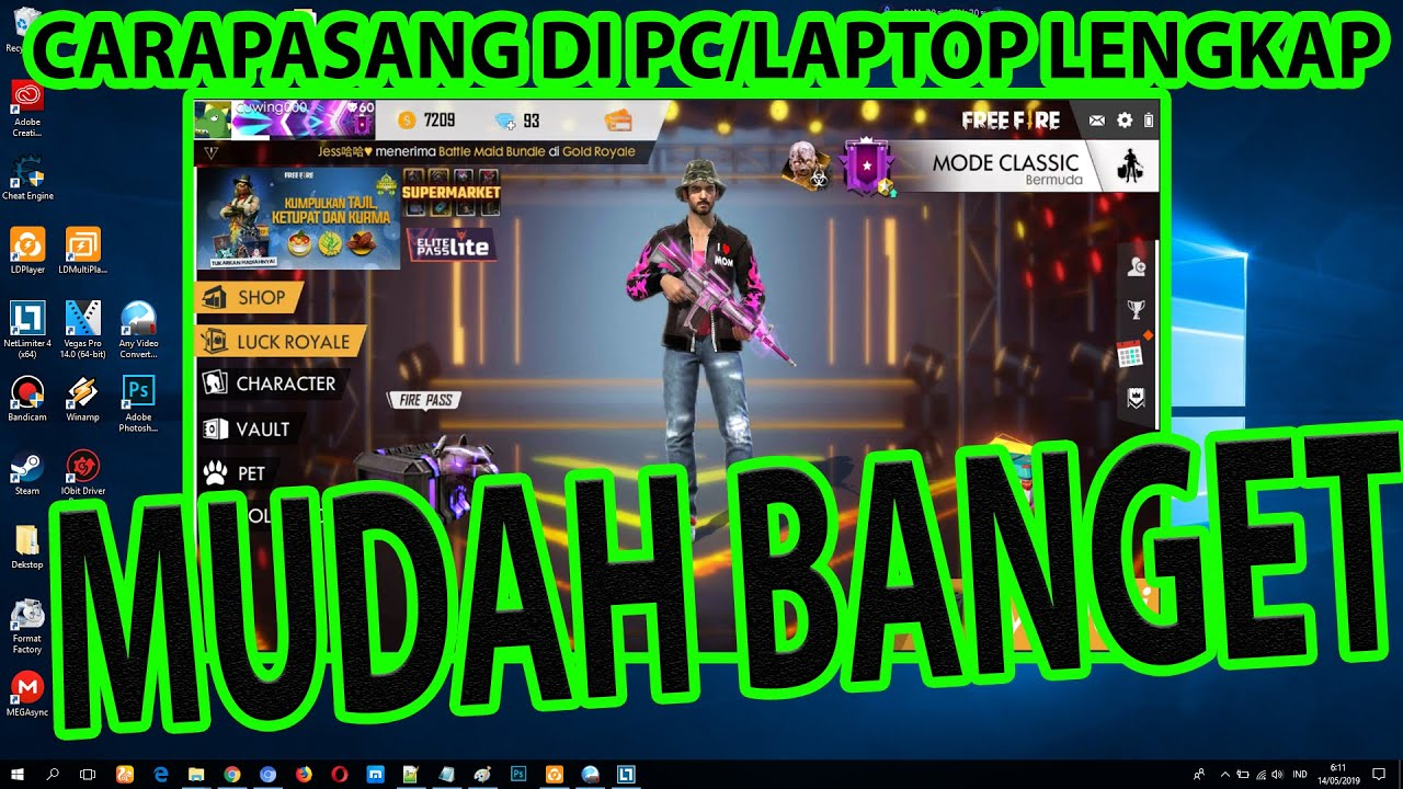 Cara Download Free Fire Di Pc Laptop Tanpa Bluestack Dan