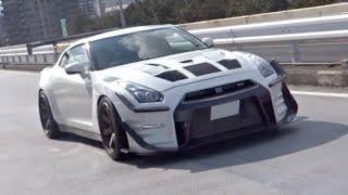 【辰巳PA】F40他 スーパーカー加速サウンド/Supercars sound in Japan. 3xHuracanPerformante, F40, SLS, Scuderia and more