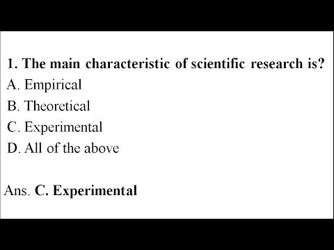 MCQ about research and statistics