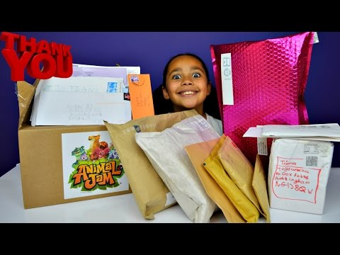 BIGGEST PO BOX OPENING EVER! Surprise Toys FAN MAIL - Toys AndMe