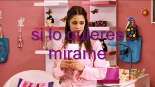 Violetta - Habla si puedes  - Letra completa