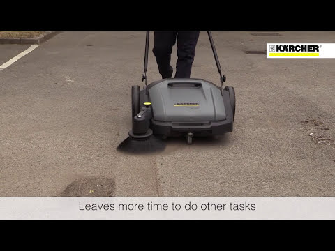 Kärcher - Why Use A Sweeper? - Broom vs Sweeper