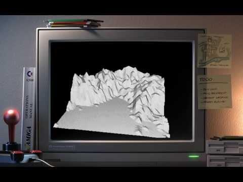 Amiga Megademo  DwarfX Intro + Zippy-X (Gaz Murfin Demo 1)