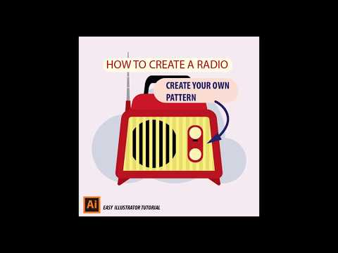 cách vẽ RADIO trong Adobe ILLUSTRATOR đơn giản - EASY RADIO tutorial using ILLUSTRATOR thumbnail