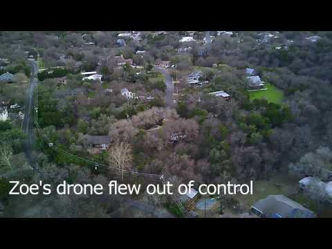 Drone rescues drone: flyaway viewpoint