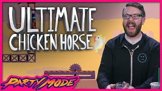 Greg Still Hates ULTIMATE CHICKEN HORSE - Party Mode